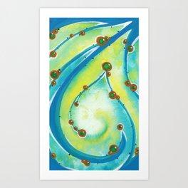 Ocean Gems Art Print