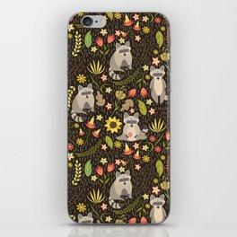 Raccoons iPhone Skin