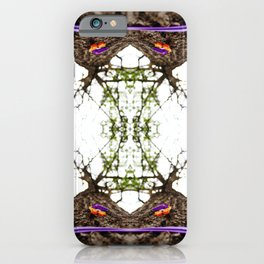 Marked Tree iPhone Case