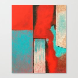 The Corners of My Mind, Abstract Painting Canvas Print