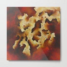 Biomorphic Untitled 4 Metal Print