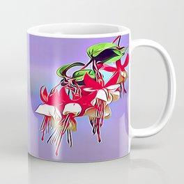 Fuchsia and The Hummingbird Coffee Mug