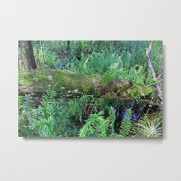 Crowded Places Metal Print