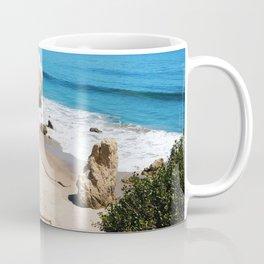 El Matador State Beach Stairs Coffee Mug