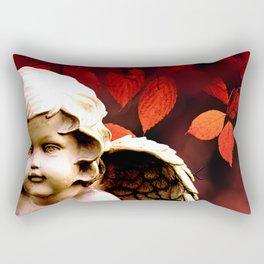 Little Angel Cherub Child Autumn Tree Spiritual A318 Rectangular Pillow