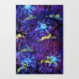 Dreamy nights Canvas Print