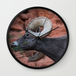 Breakfast - Valley of Fire Resident Wall Clock
