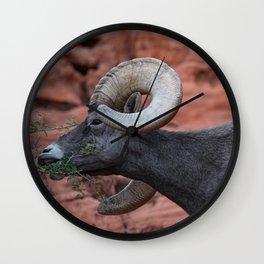 Breakfast - Valley of Fire Resident Wall Clock
