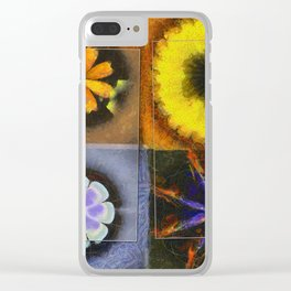 Industrial Form Flowers  ID:16165-024252-22791 Clear iPhone Case