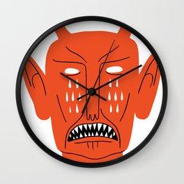 Devil's Head Wall Clock