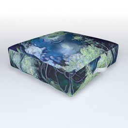 Hidden Caverns in the Dales. Outdoor Floor Cushion