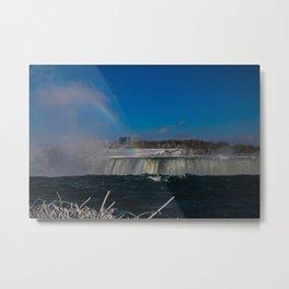 rainbow at the edge Metal Print