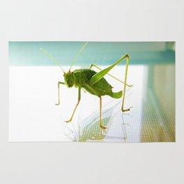 Happy Grasshopper Rug