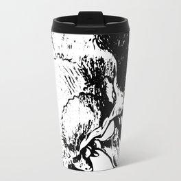 Skull Profile Travel Mug