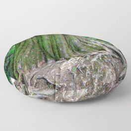 Moss Covered Tree Floor Pillow