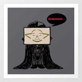 Current Status (Dark Side) Art Print