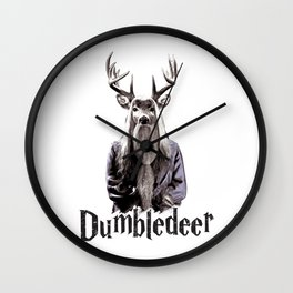 Dumbledeer Wall Clock