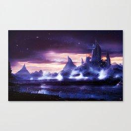 Nitrogen Waterfalls Canvas Print