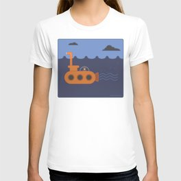 20 thousand leagues under the eye T-shirt