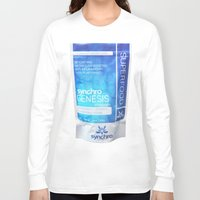 bag Long Sleeve T-shirts featuring bag by Synchro