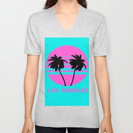 Los Angeles Unisex V-Neck