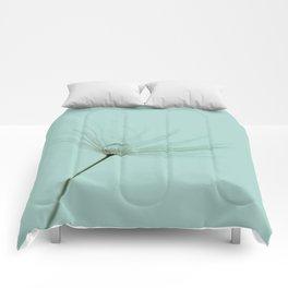 Dandelion dew drop Comforters