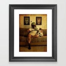Bobamazing Framed Art Print