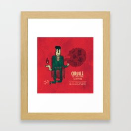 Carlyle, The Christmas Vampire Framed Art Print