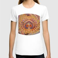 wine T-shirts featuring Summer Wine by EliB-Art