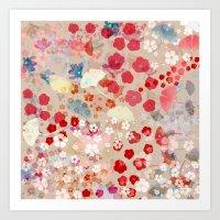blossom Art Prints featuring Blossom by Marta Olga Klara