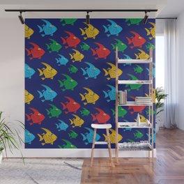 Cartoon Fish Wall Mural