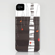 The last of the leaves. Slim Case iPhone (4, 4s)