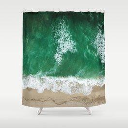 miami beach  Shower Curtain