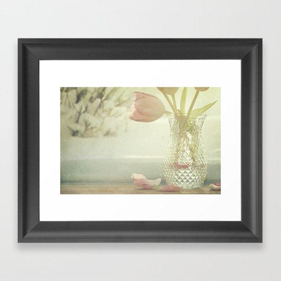 Make it Spring... Framed Art Print