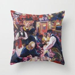 Carnegie Deli Throw Pillow