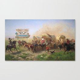 Frontier Canvas Print