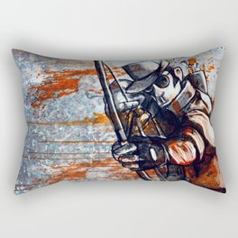 Bloody Gorgeous Rectangular Pillow