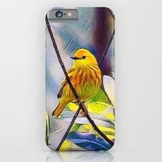 Sweet Yellow Warbler Slim Case iPhone 6s