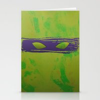 tmnt Stationery Cards featuring TMNT Donnie by Some_Designs