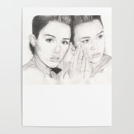 miley vs. miley Poster