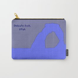Delicate_Arch Peri Pop_Art - Arches_National_Park, Moab, Utah Carry-All Pouch