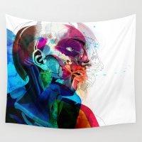 anatomy Wall Tapestries featuring Anatomy Gautier v2  by Alvaro Tapia Hidalgo