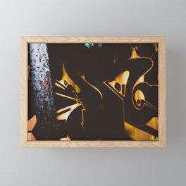 La inquietud. Framed Mini Art Print