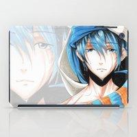 iwatobi iPad Cases featuring Free! Iwatobi Swim Club Haruka by Mistiqarts