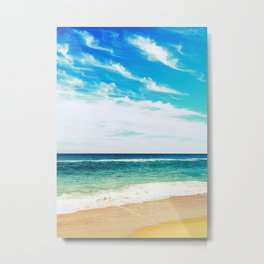 Ocean Beach Metal Print