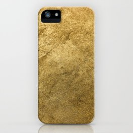 Golden texture background. Vintage gold. iPhone Case