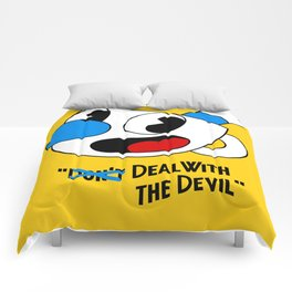 Deal With the Devil - Cuphead Comforters