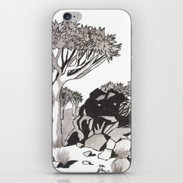 Quiver Tree & Rocks - Namibia iPhone Skin