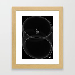 The Flow Series #11 Framed Art Print