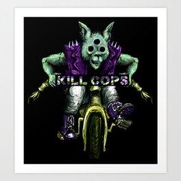 Trikewolf II Art Print